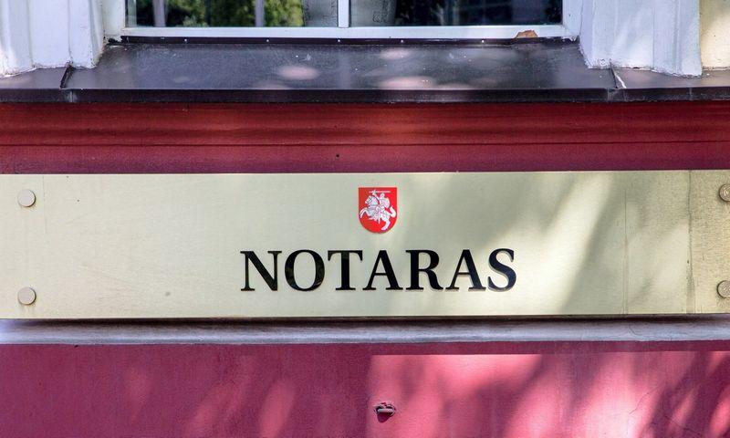 Notaro biuras Vilniuje. Juditos Grigelytės (VŽ) nuotr.