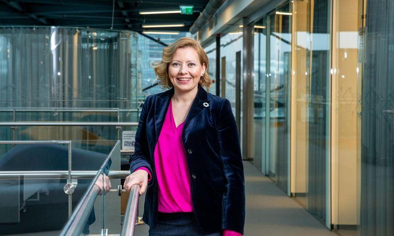 """Dovilė Grigienė, """"Swedbank"""" valdybos pirmininkė. Juditos Grigelytės (VŽ) nuotr."""
