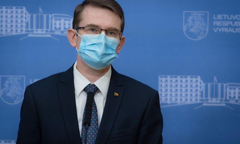 Arūnas Dulkys, sveikatos apsaugos ministras. Dariaus Janučio (LRVK) nuotr.