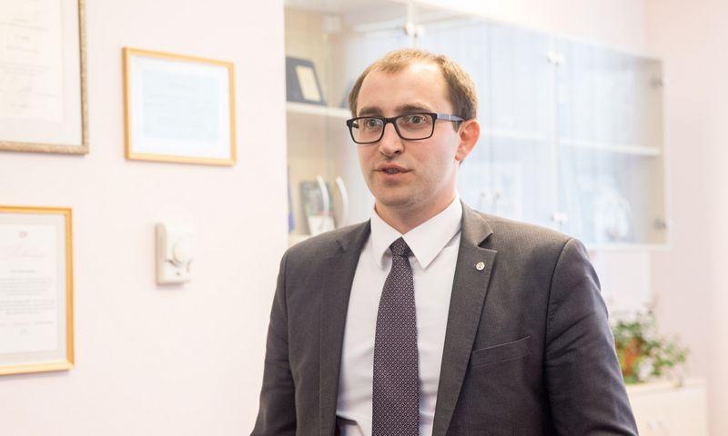 Valstybinės duomenų apsaugos inspekcijos vadovas Raimondas Andrijauskas. Juditos Grigelytės (VŽ) nuotr.
