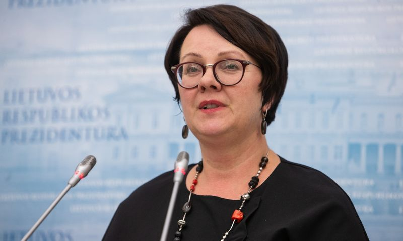 Edita Janušienė, VMI vadovė Vladimiro Ivanovo (VŽ) nuotr.