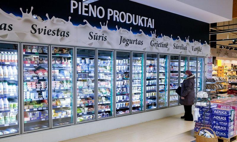 """Pačių gaminti pieno gaminiai sudaro apie pusę viso """"Norfos"""" parduotuvėse parduodamo tokių gaminių kiekio. VLADIMIRO IVANOVO NUOTR."""