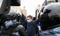 Po masinių protestų Rusijos valdžia didina baudas protestuotojams