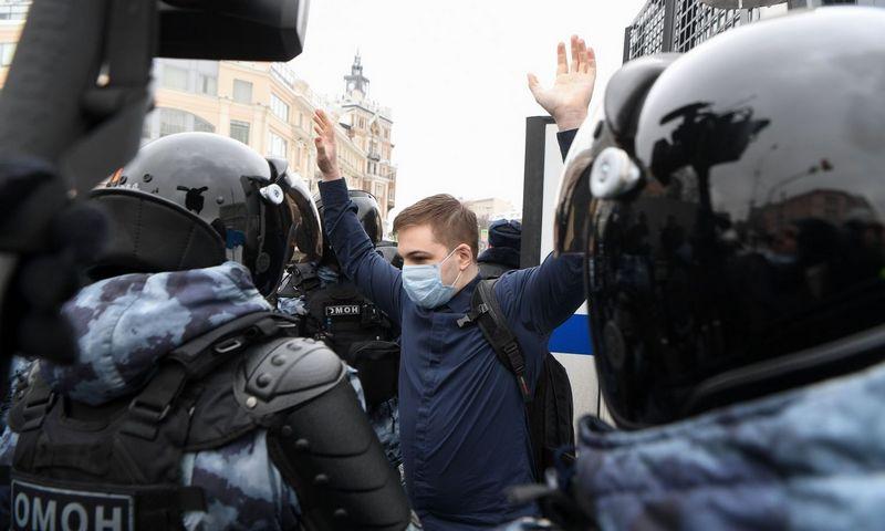 """Natalios Kolesnikovos (AFP / """"Scanpix"""") nuotr."""