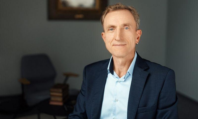 """Vytenis Kudinskas, verslo valdymo paslaugų bendrovės """"Mažeika ir partneriai"""" partneris."""