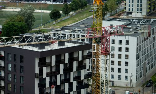 Statistikos departamentas: statybos per metus brango 0,4%