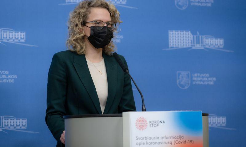 Aušrinė Armonaitė, ekonomikos ir inovacijų ministrė. Dariaus Janučio (LRVK) nuotr.