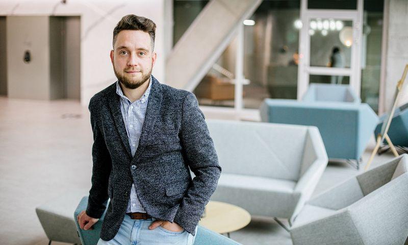 """""""Tele2"""" verslo pardavimų vadovas Dominykas Maksimavičius."""