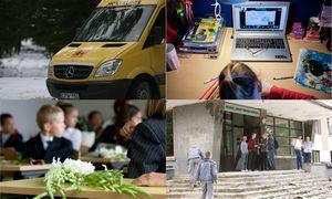 Švietimo investicijos: skaitmeninės mokyklos daigai kalasi per betoną ir plytas
