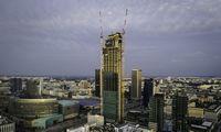 Varšuvoje baigiamas statyti aukščiausias ES dangoraižis