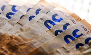 Centrinės valdžios deficitas sausį – 88 mln. Eur