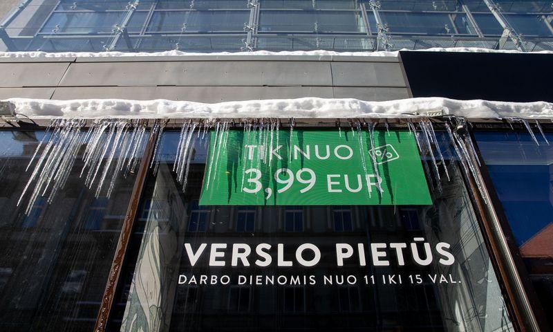 Restoranas Vilniuje antro karantino metu. Juditos Grigelytės (VŽ) nuotr.