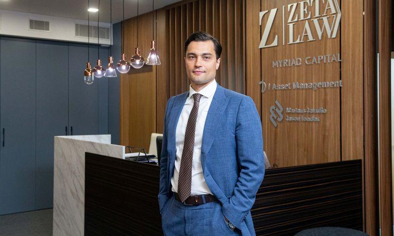 """Ernestas Kazbaras, """"I Asset Management"""" direktorius. Juditos Grigelytės (VŽ) nuotr."""