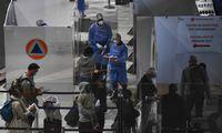 ES lyderiai neprognozuoja, kad kelionių suvaržymai bus greitai panaikinti