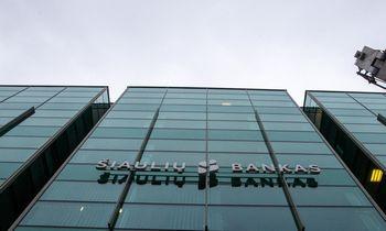 Šiaulių banko pelnas mažėjo 16,5%