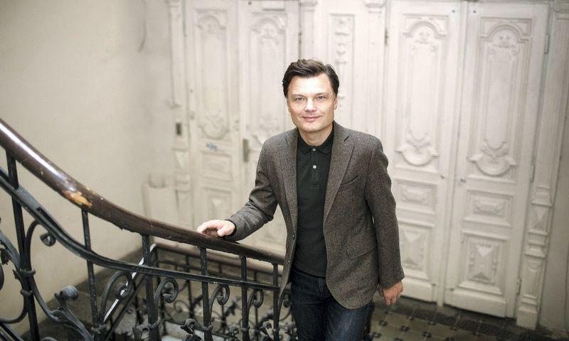 Organizacijų konsultantas, darbuotojų įsitraukimo ir atlygio valdymo ekspertas Eligijus Kajieta. Nuot. Šarūnės Zurbos.