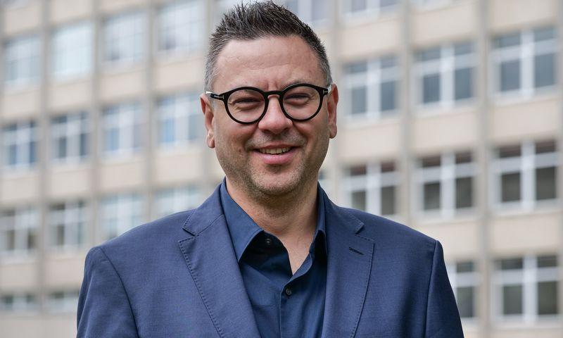 Tomas Rytel, LRT Administravimo ir veiklos vystymo departamento vadovas. Vladimiro Ivanovo (VŽ) nuotr.