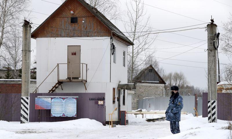 """Šioje kolonijoje, kaip manoma, yra įkalintas Aleksejus Navalnas. Mikhail Metzel (TASS/""""Scanpix"""") nuotr."""