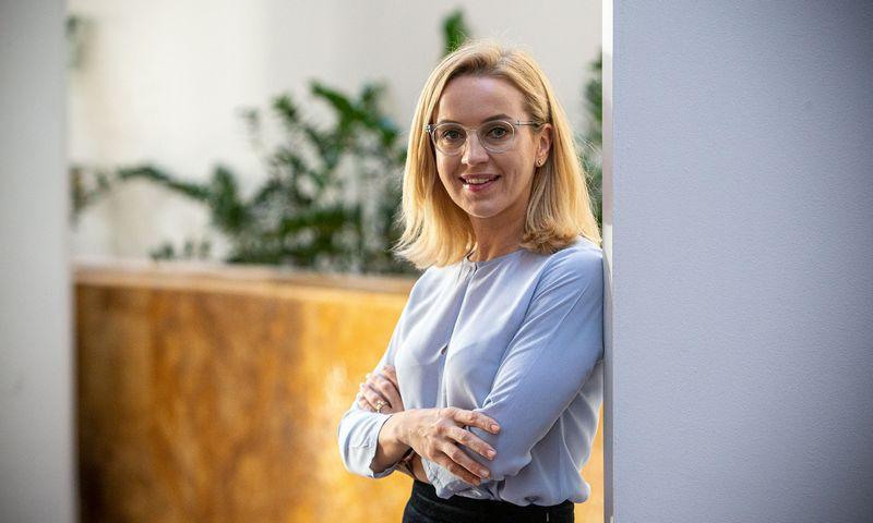 """Jurgita Lemešiūtė, UAB """"People Link"""" vadovaujanti partnerė. Vladimiro Ivanovo (VŽ) nuotr."""