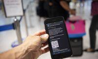 Skiepų paso sprendimus pasiruošusios oro bendrovės laukia politikų