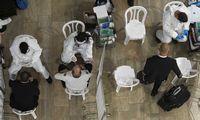PSO: pasaulis šiemet koronaviruso dar neįveiks