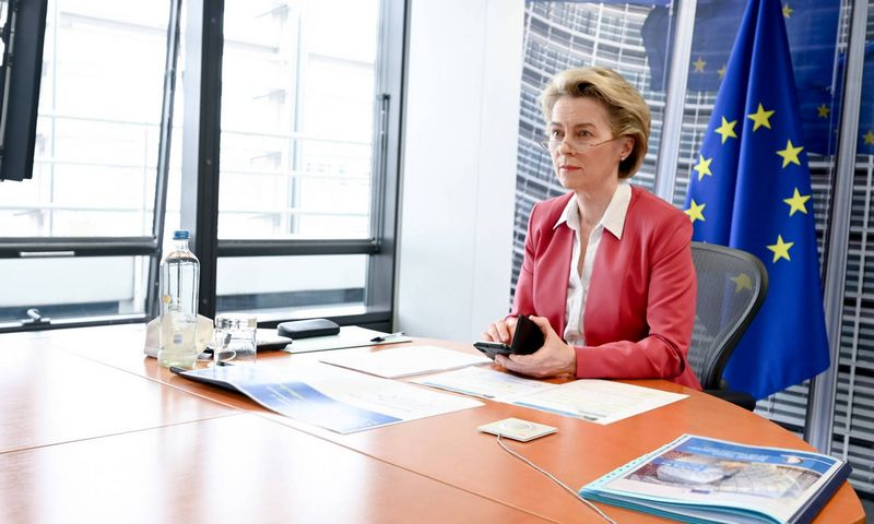 "Ursula von der Leyen, Europos Komisijos pirmininkė. (""Xinhua"" / ""Scanpix"") nuotr."
