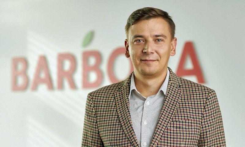 """Andrius Jurgelevičius, naujasis """"Barboros"""" vadovas. Įmonės nuotr."""