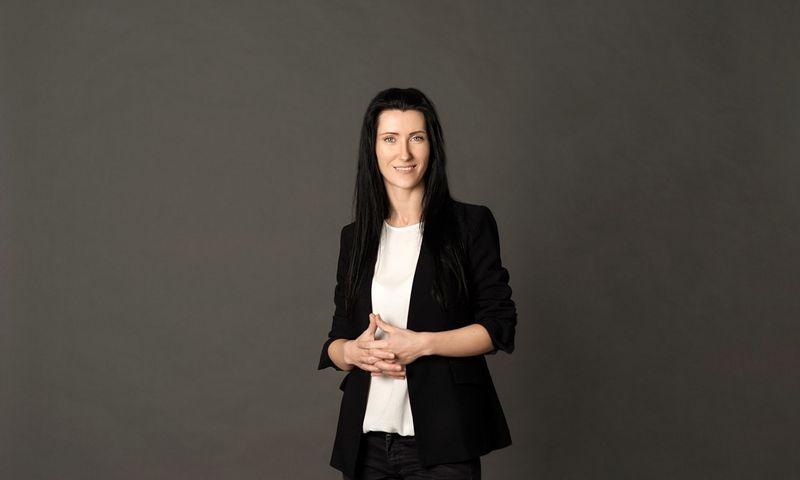 """Erika Vybernaitiene, UAB """"Inertus"""" technologijų direktore ir bendraįkūrėja."""
