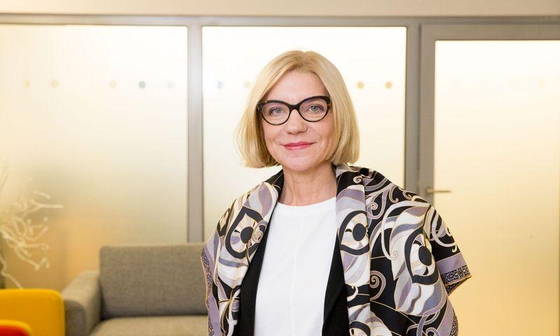 """Ilona Lepp, """"NielsenIQ"""" generalinė direktorė. Juditos Grigelytės (VŽ) nuotr."""