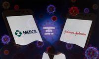 """Merck"" gamins vakciną kartu su konkurentu ""Johnson & Johnson"""