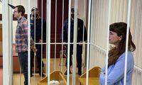 Baltarusijos žurnalistė K. Barysevič ir gydytojas A. Sarokinas nuteisti kalėti
