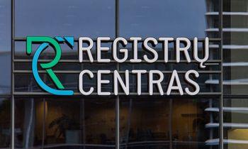 Registrų centrui už veiklos sutrikimus pernai VDAI skyrė 15.000 Eur baudą