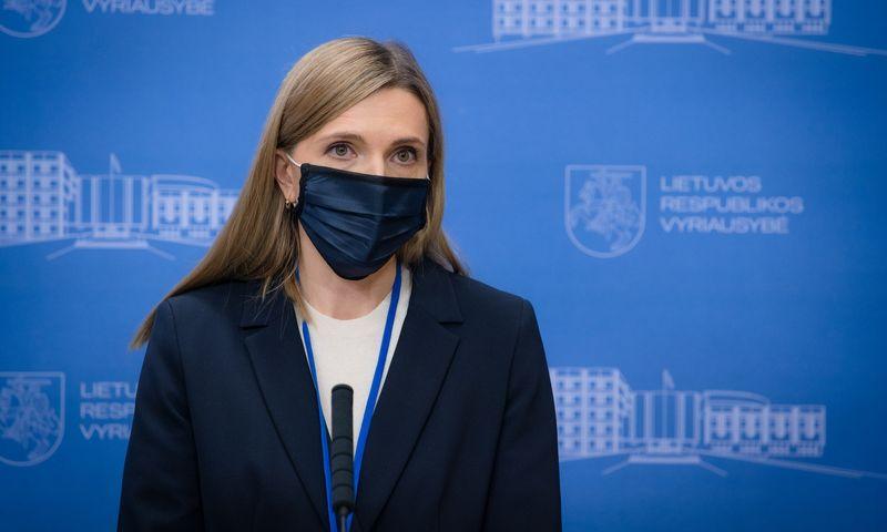 Agnė Bilotaitė, vidaus reikalų ministrė. Dariaus Janučio (LRVK) nuotr.