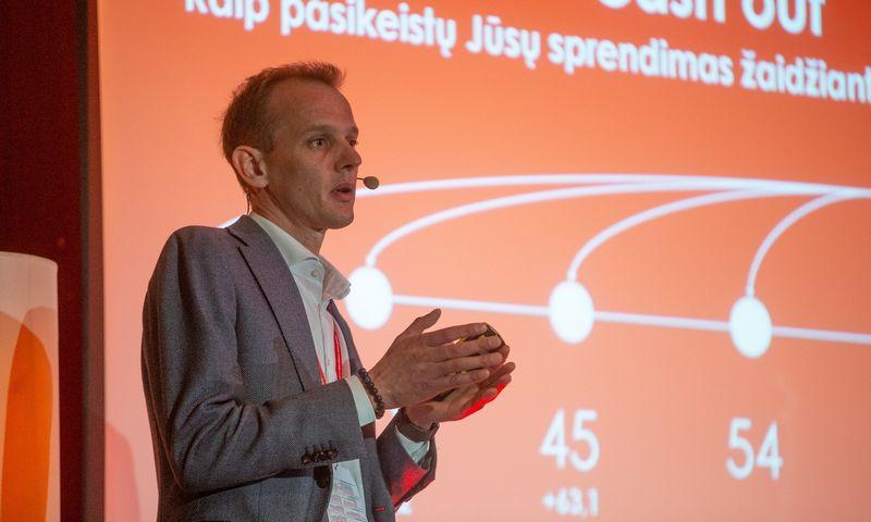 """Aurimas Kačinskas, """"Creditinfo"""" generalinis direktorius. Vladimiro Ivanovo (VŽ) nuotr."""