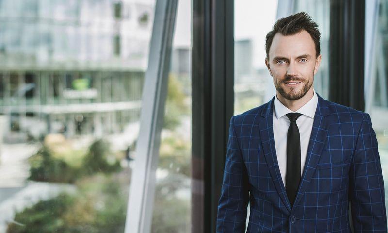 "Ugnius Latvys, ""Baltic Asset Management"" vadovas. Bendrovės nuotr."