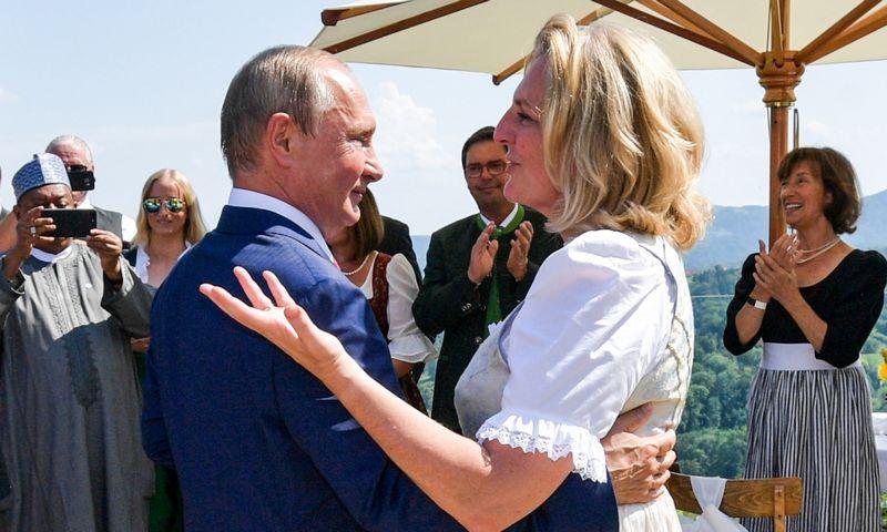 "Alexei Druzhinin (Rusijos prezidento spaudos tarnybos/TASS/""Scnapix"") nuotr."