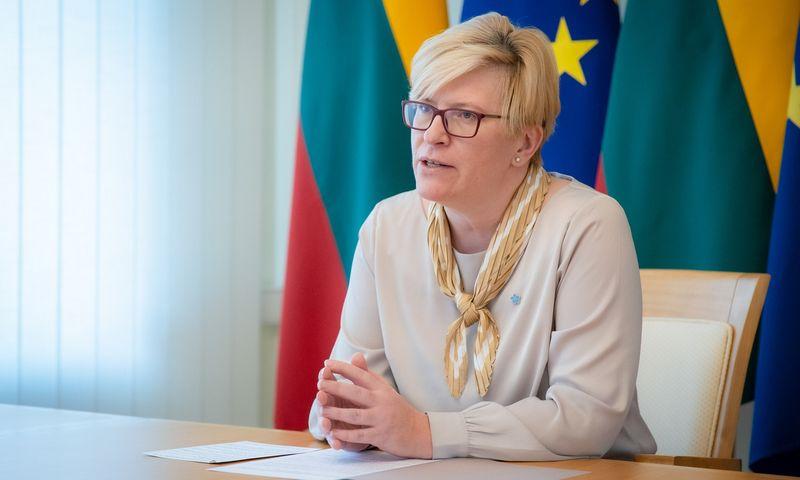 Ingrida Šimonytė, premjerė.  Dariaus Jonučio nuotr.