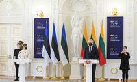 Lietuva ir Estija su nerimu stebi padėtį Rusijoje ir Baltarusijoje – G. Nausėda
