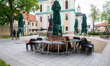 Vilnius jau rengiasi lauko kavinių sezonui