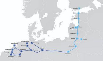 """Europinis geležinkelis """"Rail Baltica"""" – reikšmė Lietuvai ir regionui"""