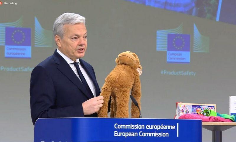 DidierReyndersas, už teisingumą atsakingas Komisijos narys.