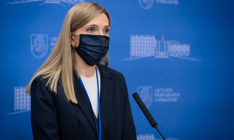 Agnė Bilotaitė, vidaus reiklaų ministrė. Dariaus Janučio (LRVK) nuotr.