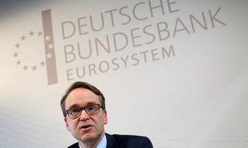 Bundesbankas pirmąkart per 40 metų neperves pelno į Vokietijos iždą