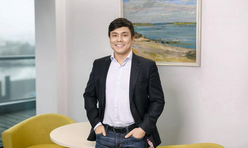 """Anton Zujev """"Fininbox"""" pardavimų ir verslo plėtros vadovas."""