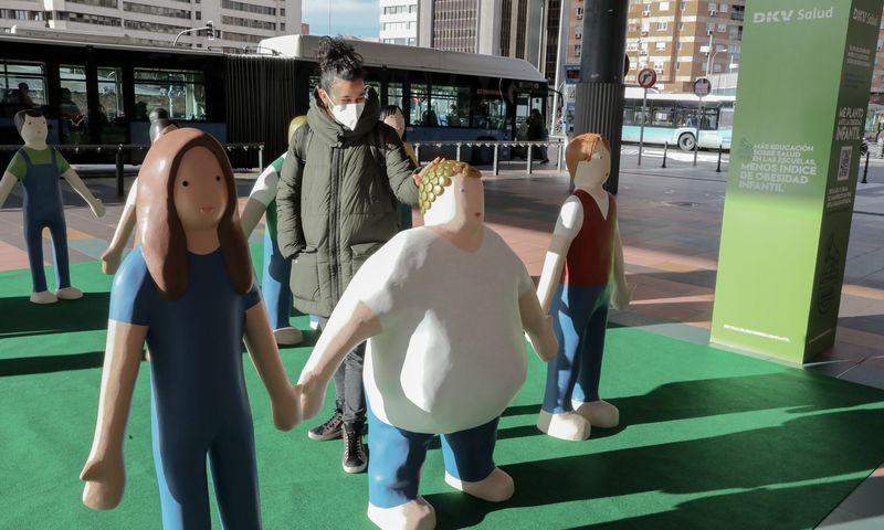 """Iniciatyva prieš vaikų nutukimą Ispanijoje. Martos Fernandez (""""Jara"""" / """"ZUMA Press"""" / """"Scanpix"""") nuotr."""