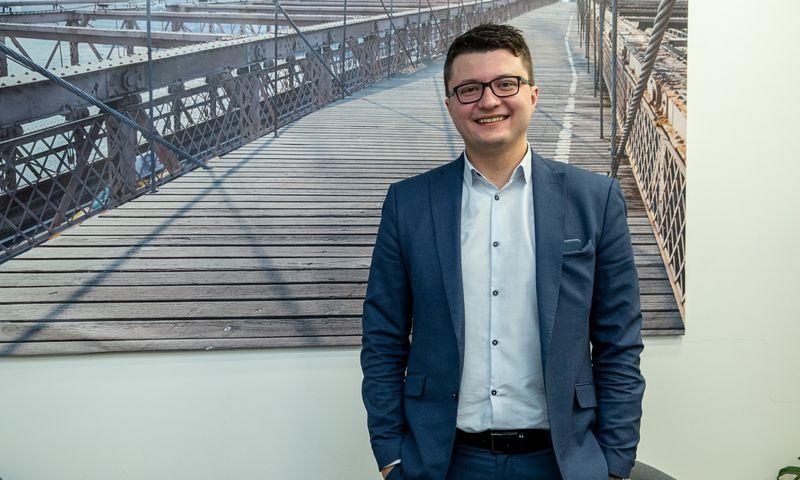 """Andžejus Rynkevičius, UAB """"Baltic assist"""" bendraturis ir direktorius. Vladimiro Ivanovo (VŽ) nuotr."""