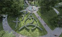 Vilniaus Sapiegų parko architektūros konkursui – viena idėja