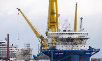 """Prie """"Nord Stream 2"""" statybos prisijungė antras rusų laivas"""