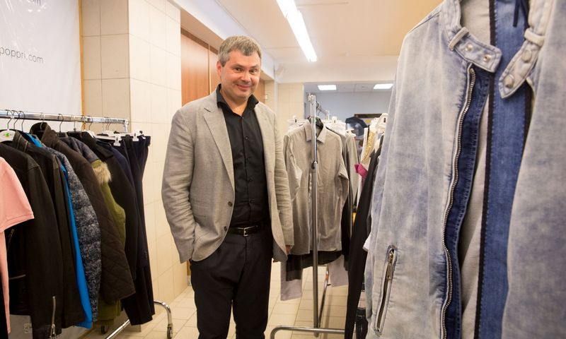 """Rolandas Tarnauskas, UAB """"Teksasas"""", valdančios mados aukcionų prekės ženklą """"Poppri Fashion Auctions"""", direktorius ir įkūrėjas. Juditos Grigelytės (VŽ) nuotr."""
