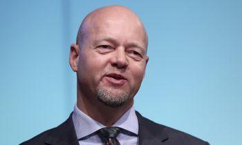Norvegijos trilijoninio fondo valdytojasY. Slyngstadas:šokų dar bus